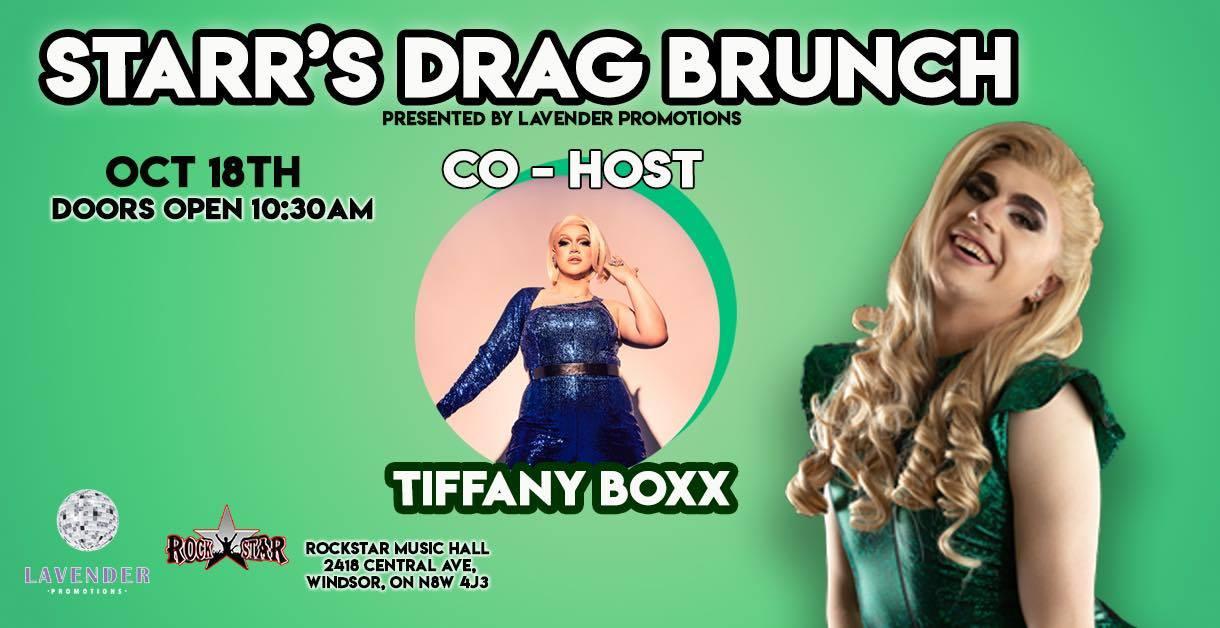 Starr's Drag Brunch with Tiffany Boxx